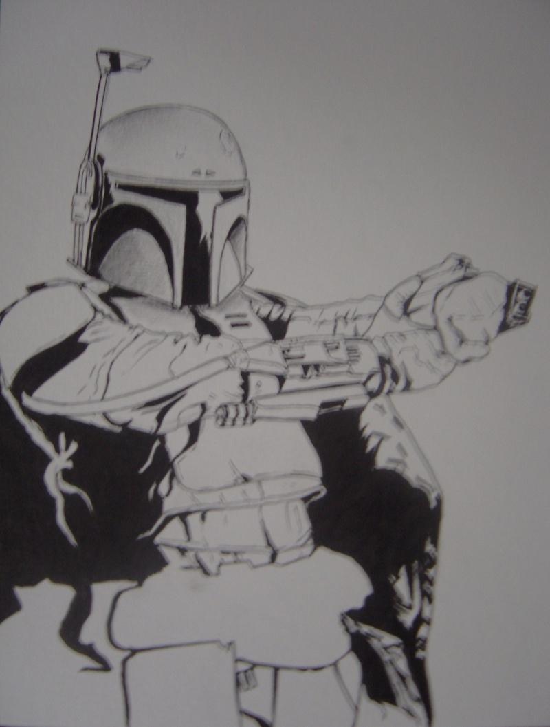 Ma premiere peinture acrylique . Dsc00811