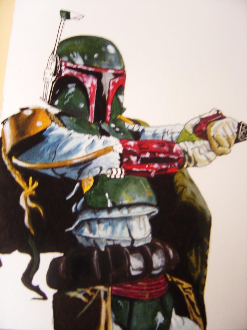 Ma premiere peinture acrylique . Dsc00813