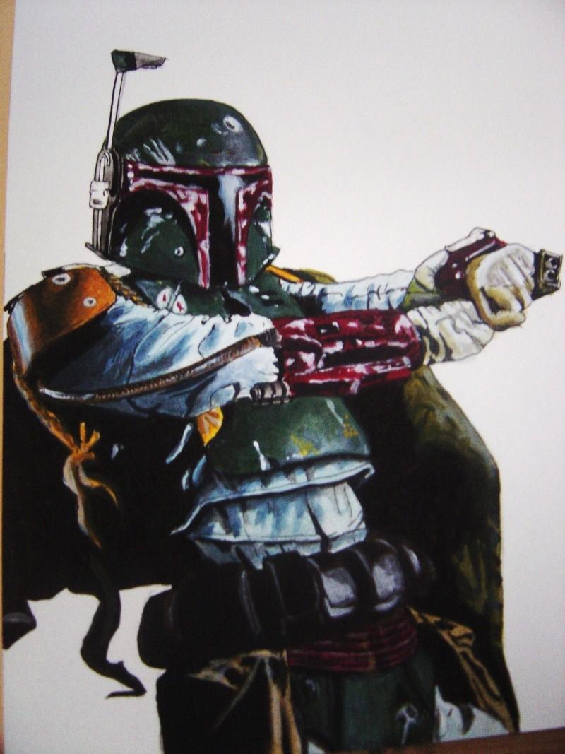 Ma premiere peinture acrylique . Dsc00815