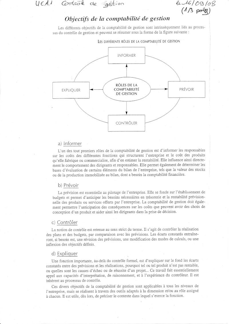 UE11 Objectif de la comptabilité de gestion Object10