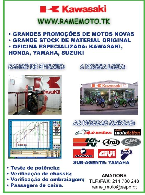 RAME MOTO - Oficina e Concessionário da Kawasaki Zyvm3311