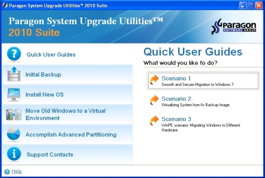 Paragon System Upgrade Utilities 2010 ISO 10022010