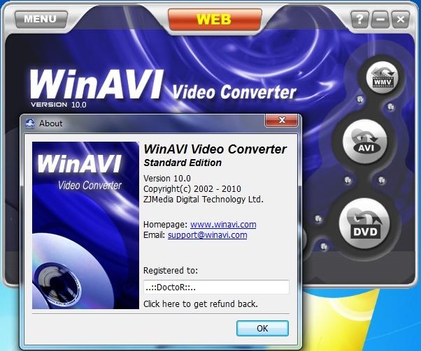 WinAVI Video Converter 10.0 Final! FULL VERSION 1210