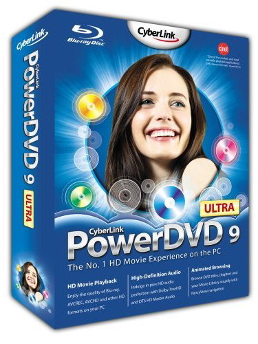 Cyberlink PowerDVD Ultra 9.0 + Tweak Pack 35a6gq10