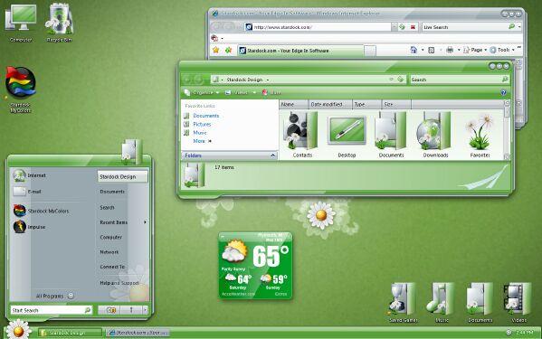Stardock MyColors : Spring Desktop 4j5miq10