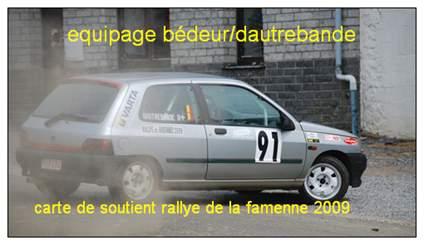 soutient rallye de la famenne 2009 Rf110