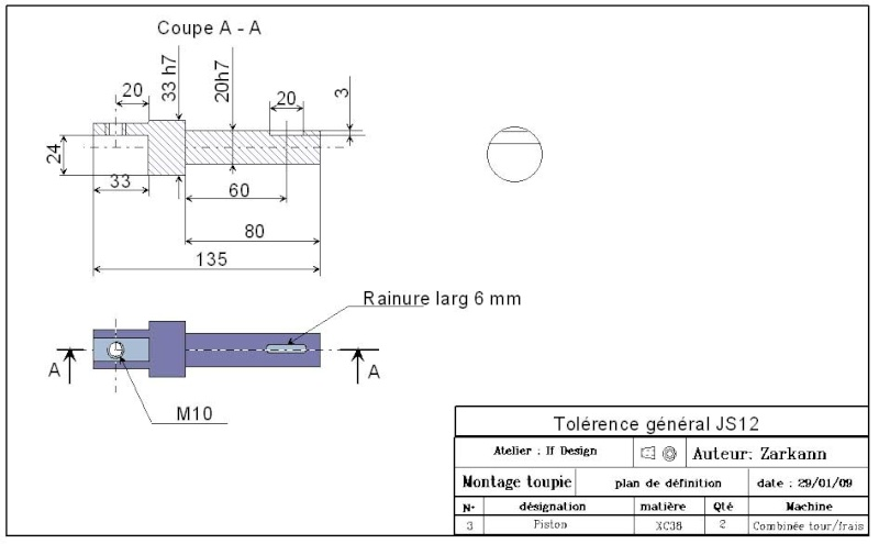 Combiné Lurem 260 (système de calibrage) Piace310