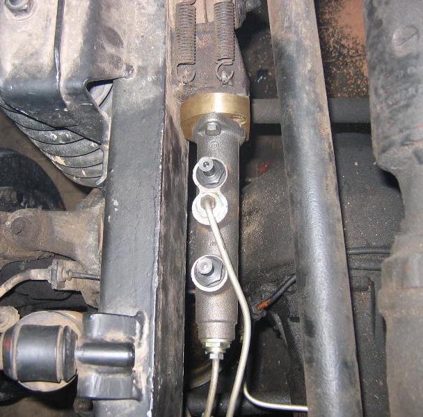 réfection des freins  2kreis10