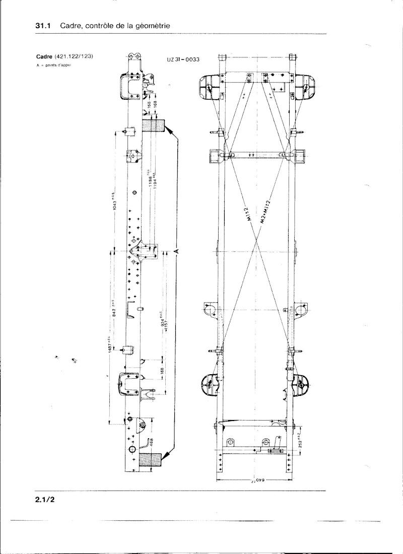 Ponts et tubes de poussée 421 Chassi10