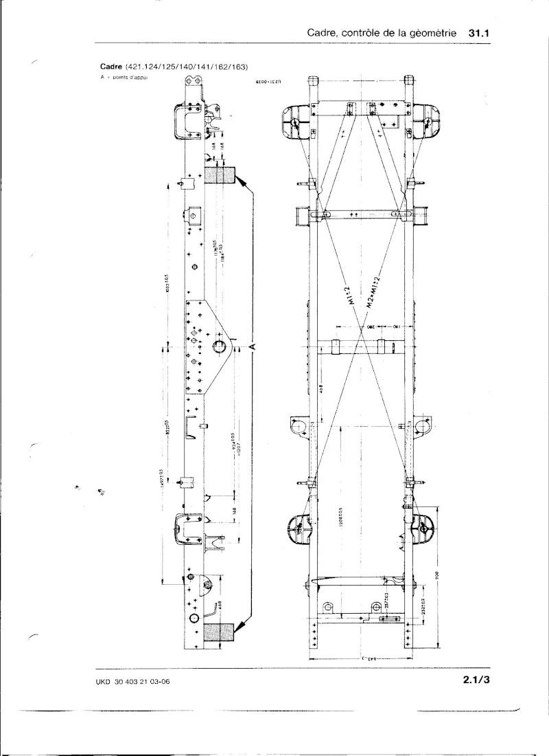 Ponts et tubes de poussée 421 Chassi11