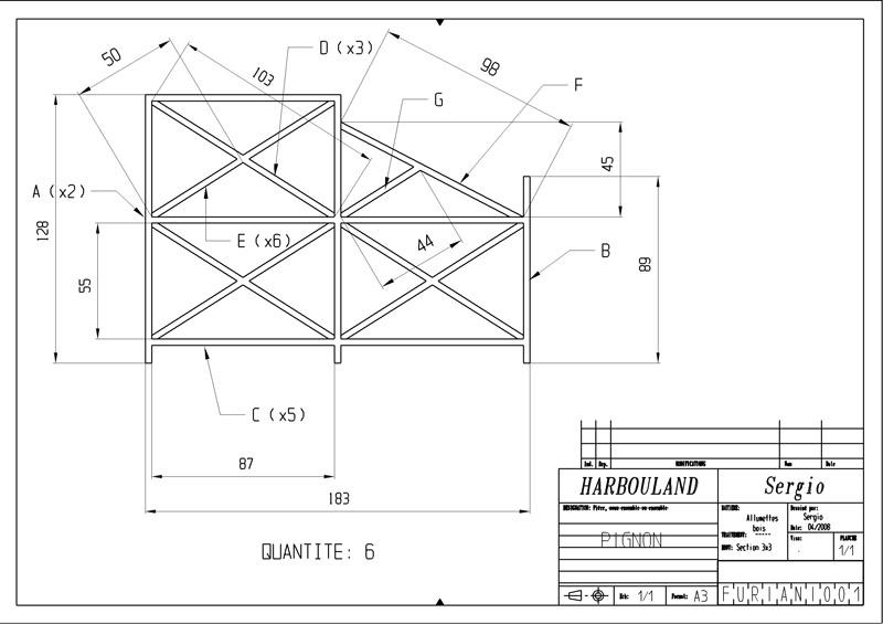 Construction d'une tribune sur ossature.... 0112