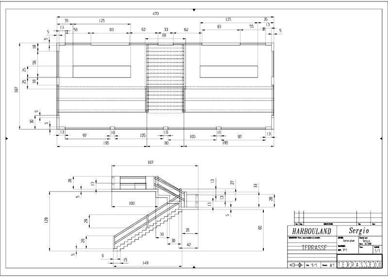 Construction d'une tribune sur ossature.... 0311
