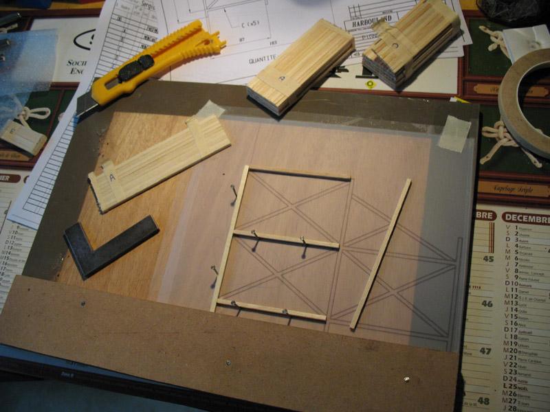 Construction d'une tribune sur ossature.... 0711