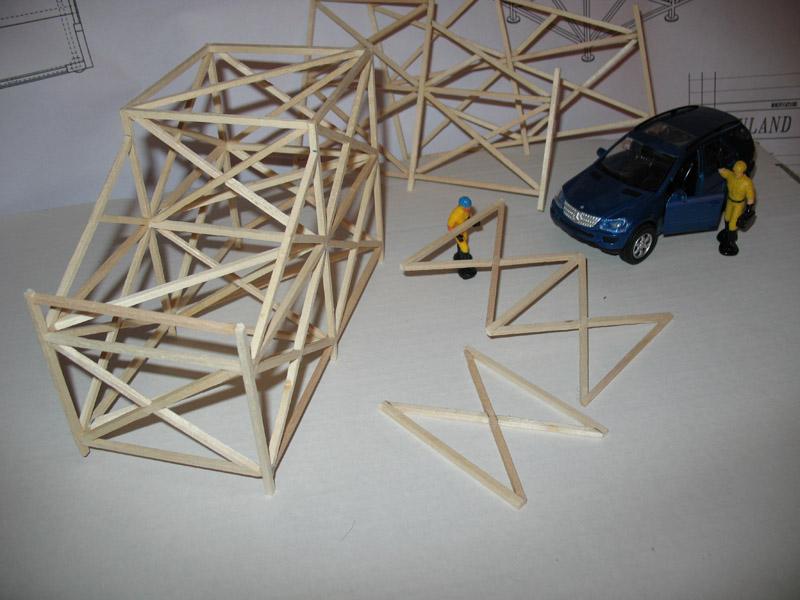 Construction d'une tribune sur ossature.... 0911