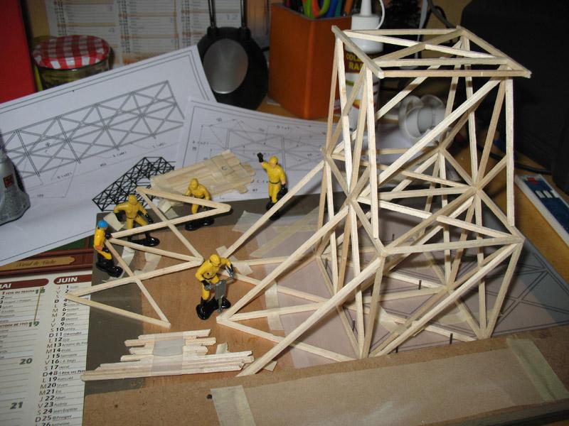 Construction d'une tribune sur ossature.... 1011