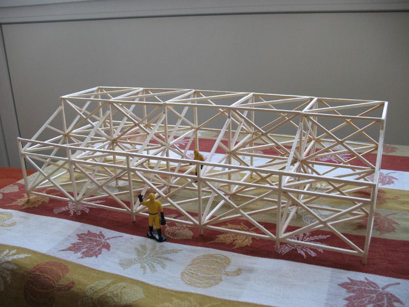 Construction d'une tribune sur ossature.... 1110