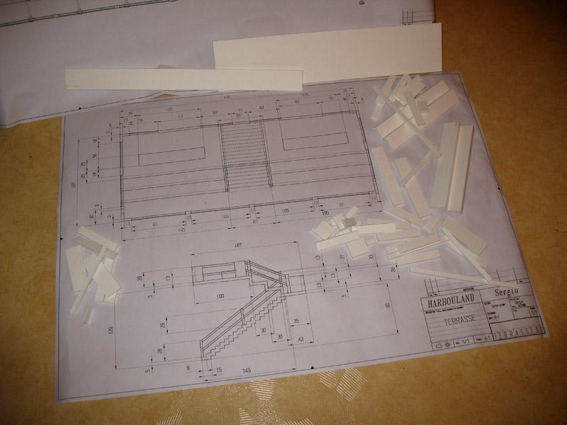 Construction d'une tribune sur ossature.... 1210