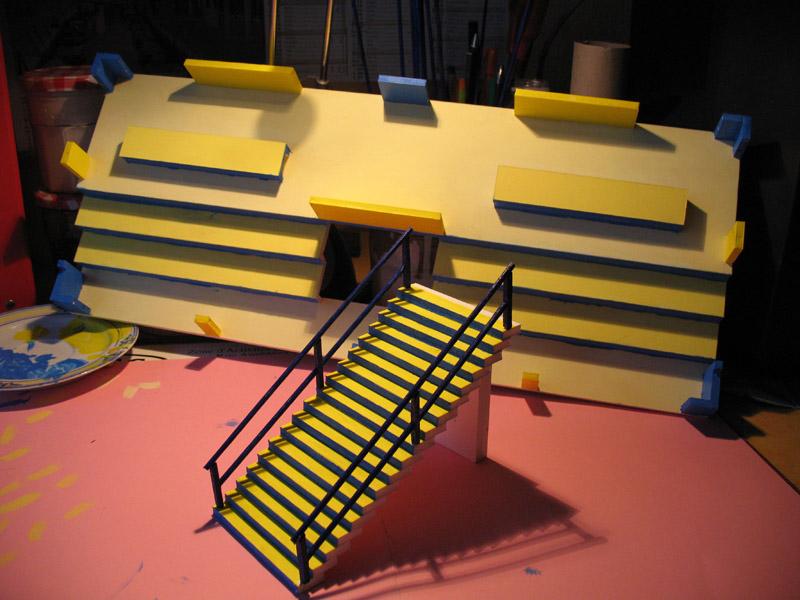 Construction d'une tribune sur ossature.... 1410