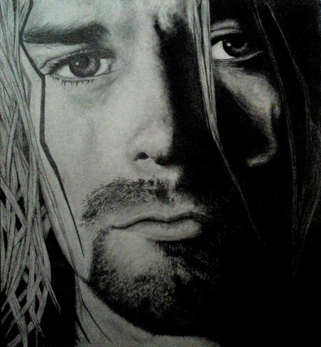 Kurt Cobain - par N'Ric 14-02-10