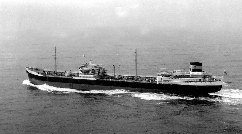 Recherche sur un vieux pétrolier grec, le Carnation Sheaf210