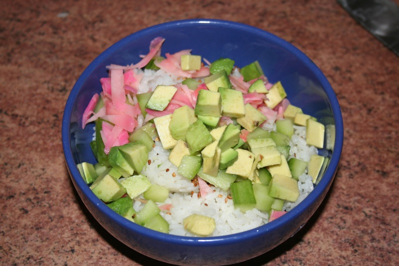 Recette : salade sushi Img_0817