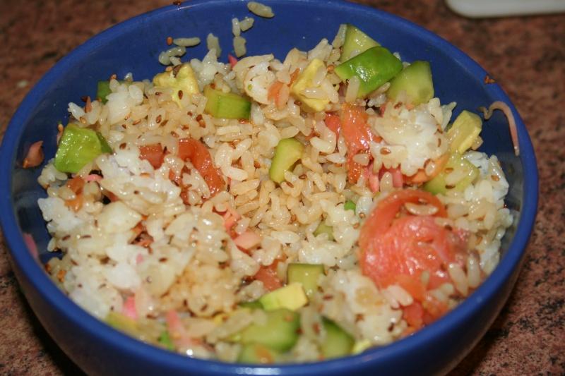 Recette : salade sushi Img_0819