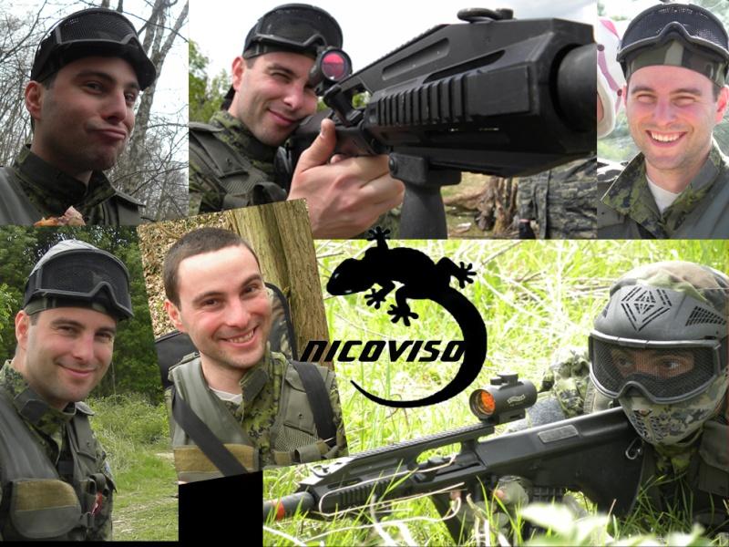 Les membres de la team Nicovi10