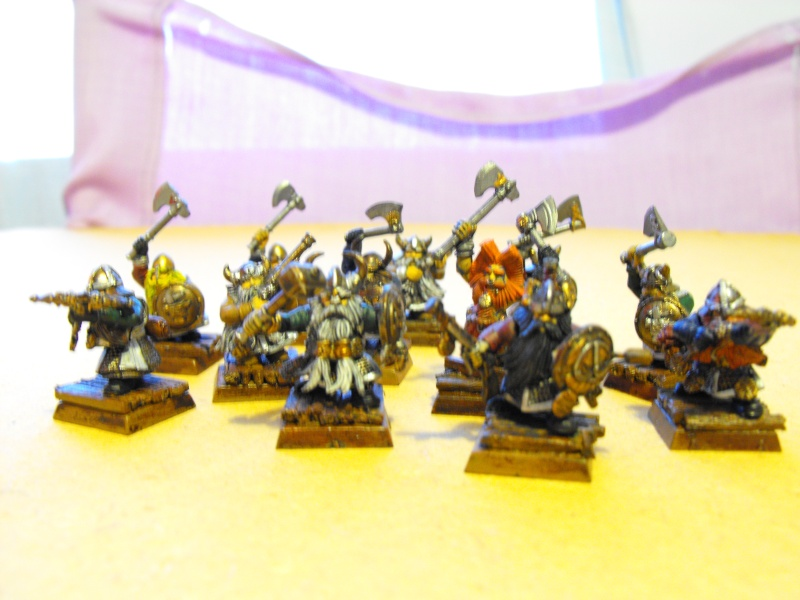 My dwarfs finally! Dscf0110