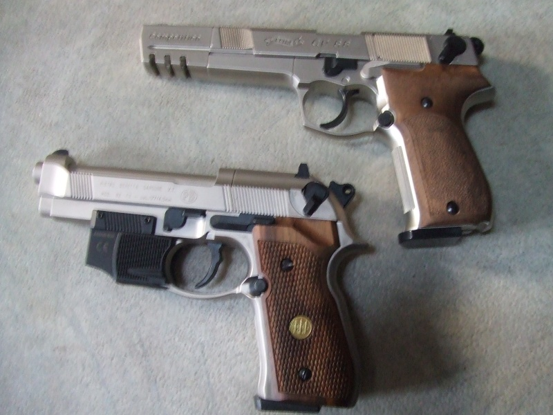 240 diana 4x32, beretta 92fs laser, p88 compétition, pistolet arbalette 80lbs Dscf4014