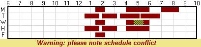 Schedules for everyone for meeting times Sched10