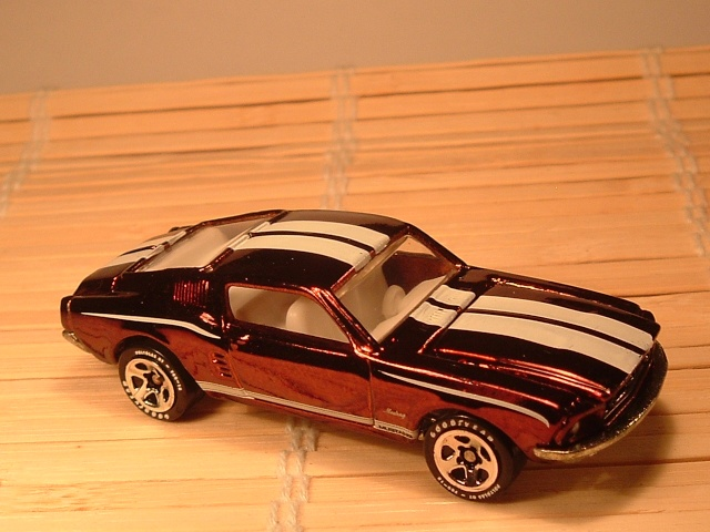 # 19 1968 MUSTANG   serie 1 Dscf7224