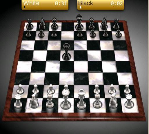 šach proti počítaču