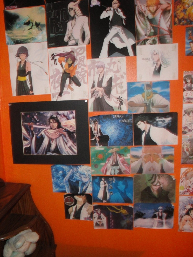 My Anime wall and wallscrolls as of now Dsc01217
