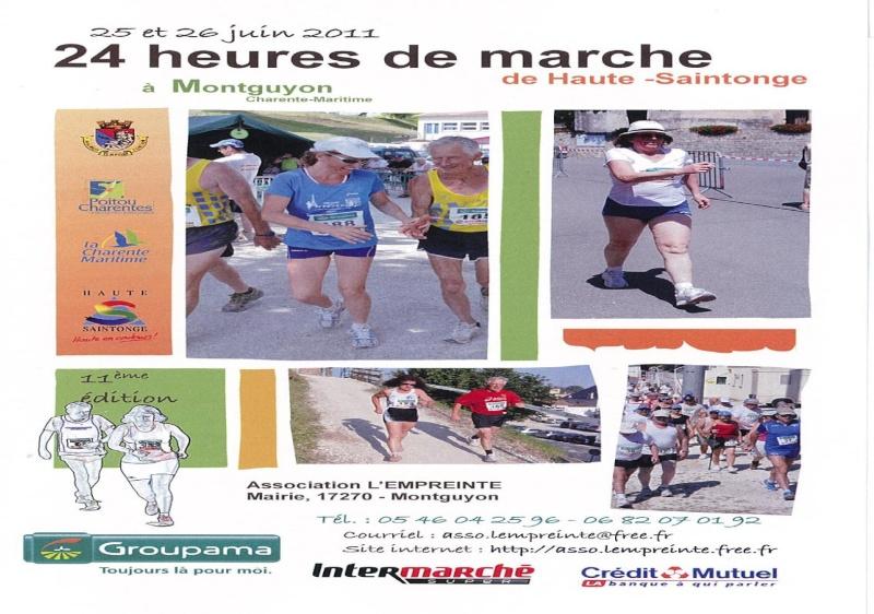 les 24 heures de marche de Montguyon 25 juin Saint_10