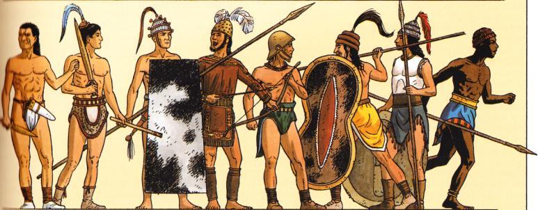 soldats de minoens
