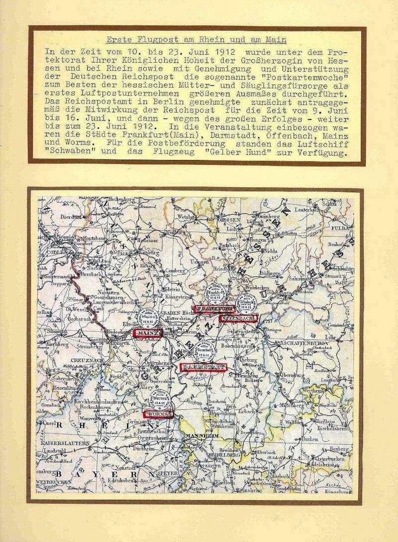 Flugpost 1912 am Rhein und Main 00000021