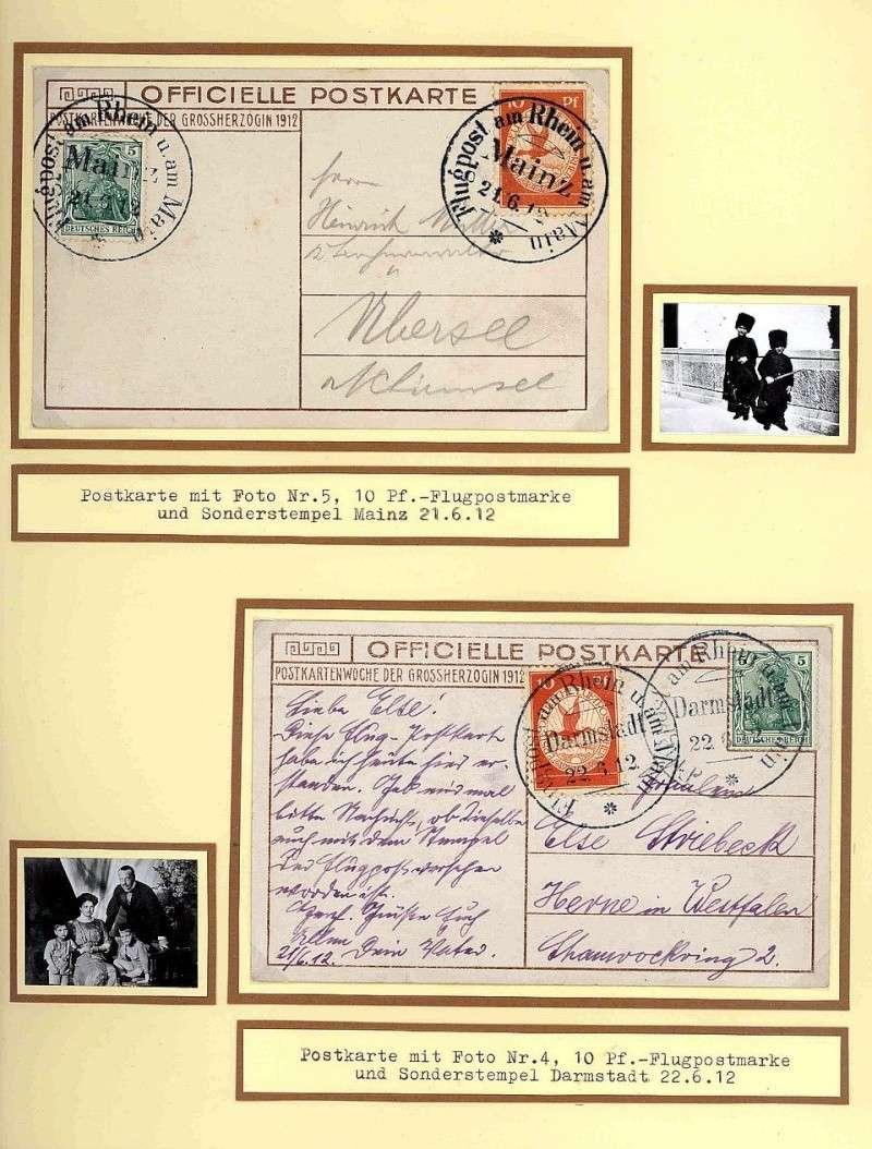 Flugpost 1912 am Rhein und Main 00000024