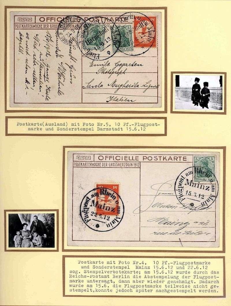Flugpost 1912 am Rhein und Main 00000025