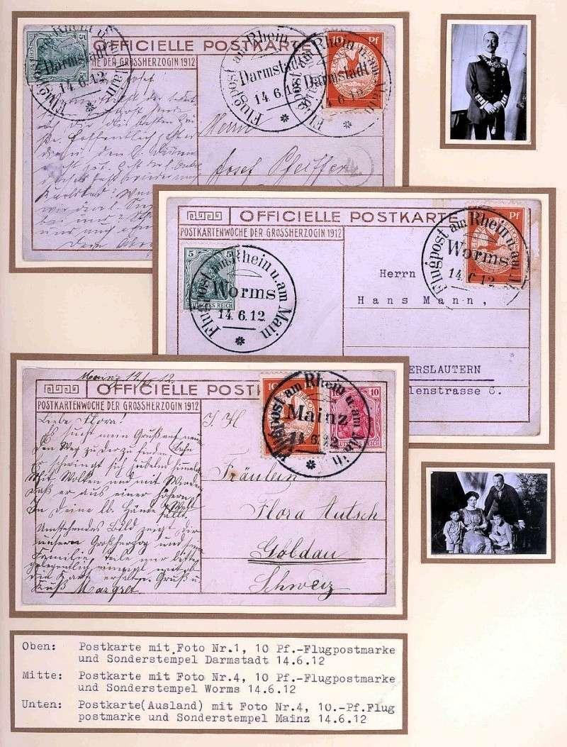 Flugpost 1912 am Rhein und Main 00000026