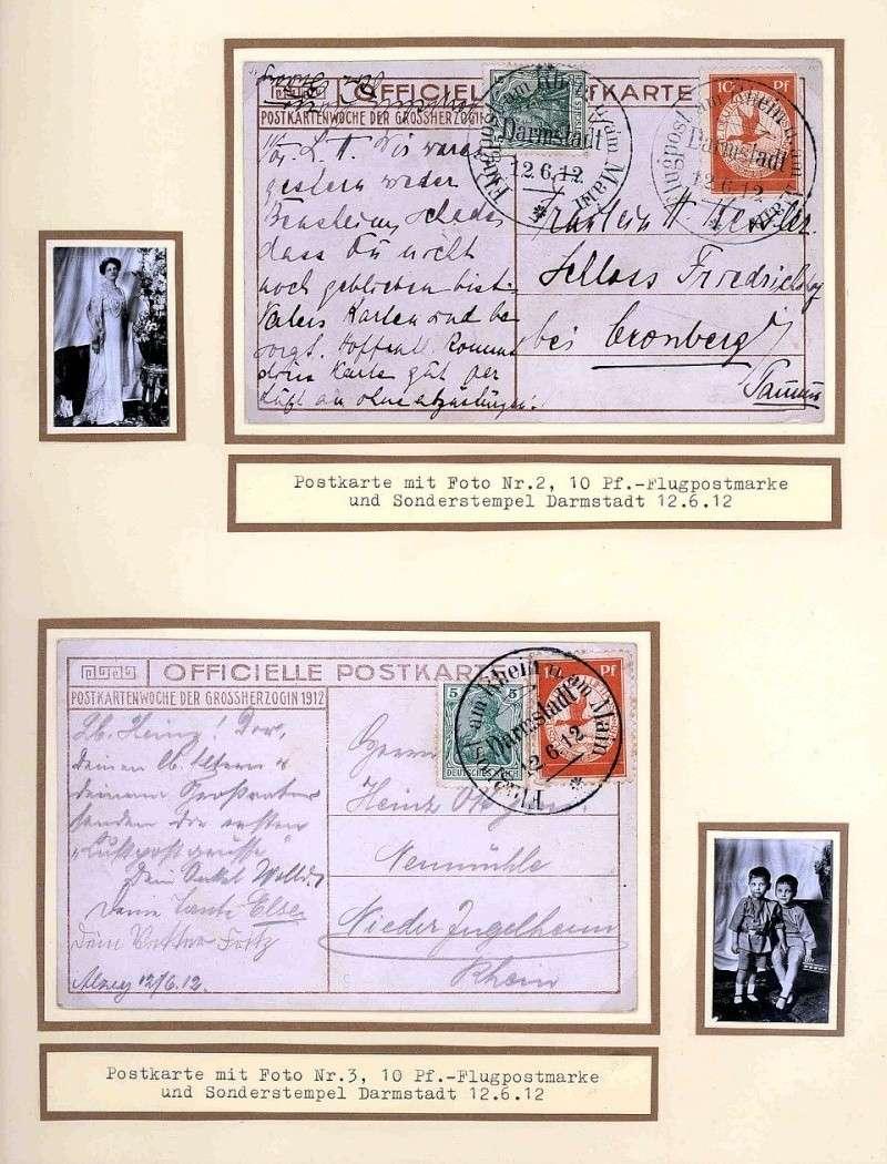 Flugpost 1912 am Rhein und Main 00000029