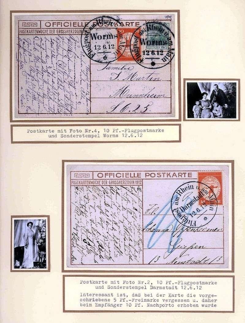 Flugpost 1912 am Rhein und Main 00000030