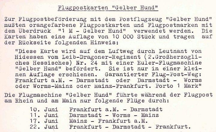 Flugpost 1912 am Rhein und Main 00000032