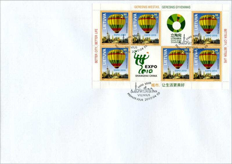 litauen - neue Marke mit Ballonmotiv aus Litauen 00000068