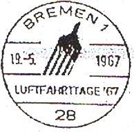 Internationale Flugpostausstellung Bremen10