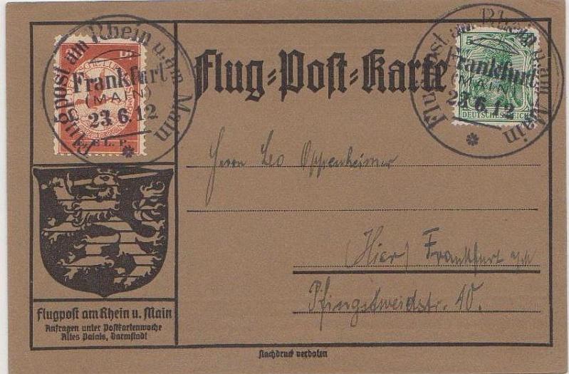 Flugpost 1912 am Rhein und Main Elp_110