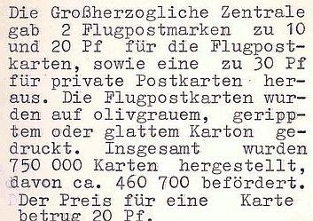 Flugpost 1912 am Rhein und Main Flugpo10