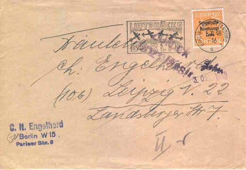 Brief 100 Tage Luftbrücke Berlin Luftbr10