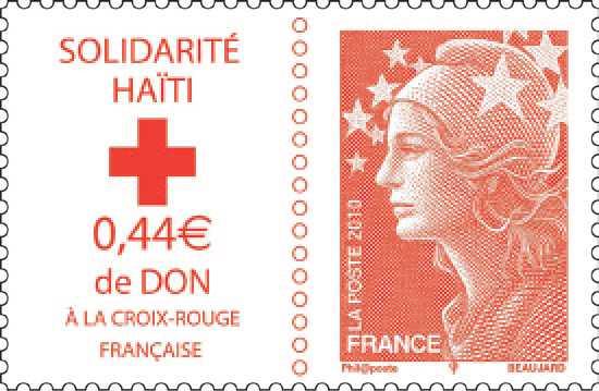Vatikanpost mit Zuschlagsmarke zugunsten Haitis Zzzzzz35
