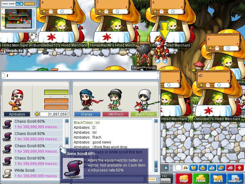 Post here your random screenshots Maple016