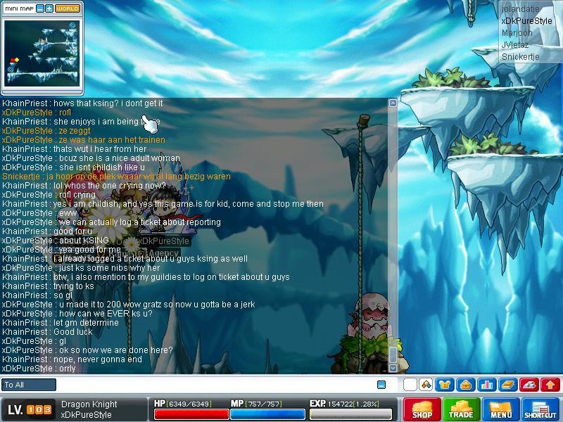 KhainPriest chat Maple018